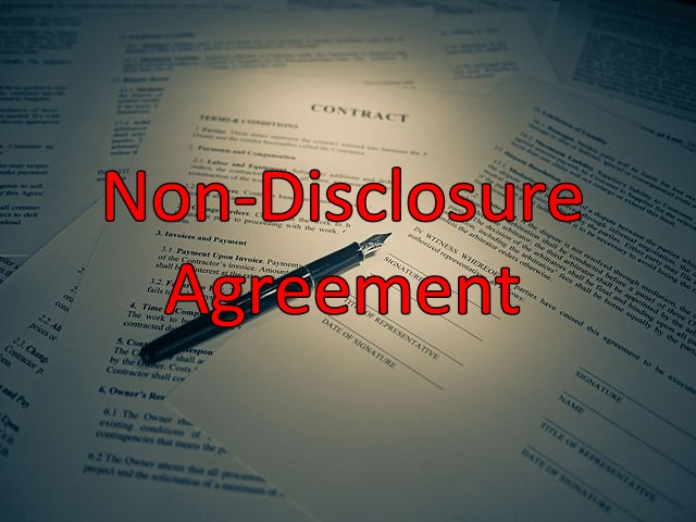 Non Disclosure Agreement To Protect An Invention The Nda By